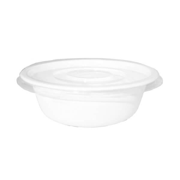bowl y tapa compostable 500cc
