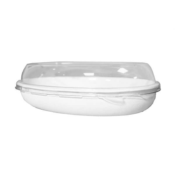 bowl y tapa compostable 780cc